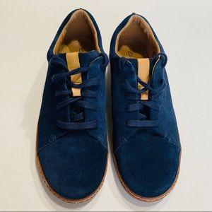 Clarks Artisan Leather AMBERLEE CREST - NAVY SHOE